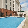 Swimming pool at Hampton Inn Jacksonville Anniston Area