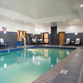 Swimming pool at Hampton Inn Kalamazoo