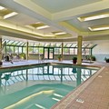 Swimming pool at Hampton Inn Kalispell