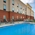 Swimming pool at Hampton Inn Kimball