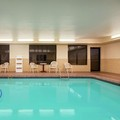 Swimming pool at Hampton Inn Longmont