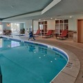 Swimming pool at Hampton Inn Lordsburg
