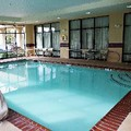 Swimming pool at Hampton Inn Martin