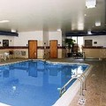 Swimming pool at Hampton Inn Oneonta