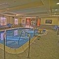 Swimming pool at Hampton Inn Parsippany North
