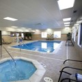 Swimming pool at Hampton Inn Port Huron