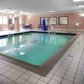 Swimming pool at Hampton Inn Portage