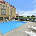 Swimming pool at Hampton Inn Raleigh / Clayton
