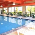 Swimming pool at Hampton Inn Scranton at Montage Mountain