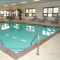Swimming pool at Hampton Inn Seymour