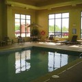 Swimming pool at Hampton Inn Stow