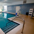 Swimming pool at Hampton Inn Suffolk
