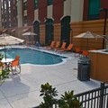 Swimming pool at Hampton Inn & Suites Albany Mall