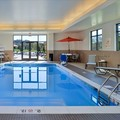 Swimming pool at Hampton Inn & Suites California University