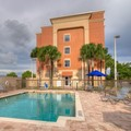 Swimming pool at Hampton Inn & Suites Cape Coral