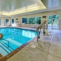 Swimming pool at Hampton Inn & Suites Cashiers Sapphire Valley