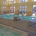 Swimming pool at Hampton Inn & Suites Chesapeake / Battlefield Blvd