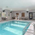 Swimming pool at Hampton Inn & Suites Cleveland Airport Hotel