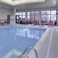 Swimming pool at Hampton Inn & Suites Columbus Scioto Downs