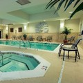 Swimming pool at Hampton Inn & Suites Dulles