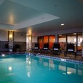 Swimming pool at Hampton Inn & Suites Dupont / Jblm