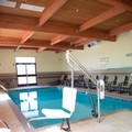 Swimming pool at Hampton Inn & Suites Hope