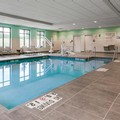 Swimming pool at Hampton Inn & Suites Hudson