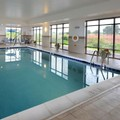 Swimming pool at Hampton Inn & Suites Lynchburg