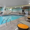 Swimming pool at Hampton Inn & Suites Mason City