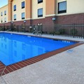 Swimming pool at Hampton Inn & Suites New Iberia
