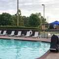Swimming pool at Hampton Inn Troy