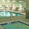 Swimming pool at Hampton Inn Utica / Shelby Township