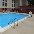 Swimming pool at Hampton Inn Wake Forest