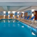 Swimming pool at Hampton Inn Waterbury