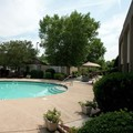 Swimming pool at Hampton Inn by Hilton Concord / Kannapolis