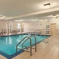 Swimming pool at Hampton Inn by Hilton Edmonton South