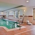 Swimming pool at Hampton Inn by Hilton Emporia