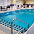 Swimming pool at Hampton Inn by Hilton North Bay
