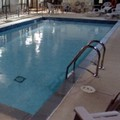 Swimming pool at Hampton Inn by Hilton Toronto / Mississauga
