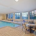 Swimming pool at Hampton by Hilton Sault Ste Marie