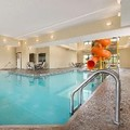 Swimming pool at Hampton by Hilton Spearfish