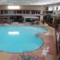 Swimming pool at Hannibal Inn & Conference Center