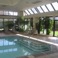 Swimming pool at Hanover Marriott