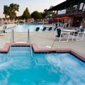 Swimming pool at Harbor Shores on Lake Geneva