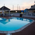 Swimming pool at Hatteras Island Inn
