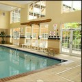 Swimming pool at Heathman Lodge