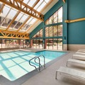 Swimming pool at Hilton Boston Dedham