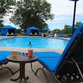 Swimming pool at Hilton Chicago / Oak Brook Hills Resort