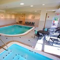 Swimming pool at Hilton Garden Inn Aberdeen