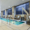 Swimming pool at Hilton Garden Inn Arlington Shirlington